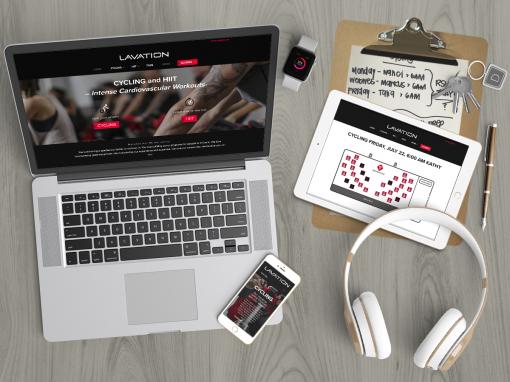 Lavation Studio Fitness Website Design