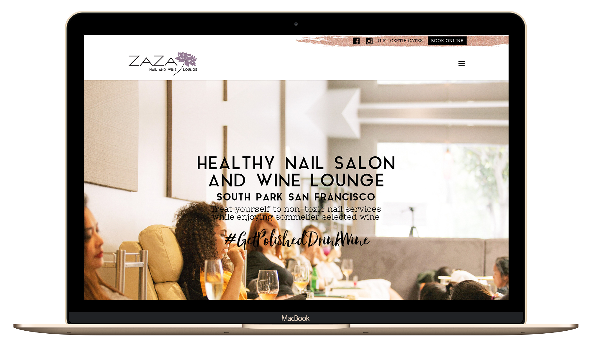 lady boss, website design, health and beauty, logo refresh