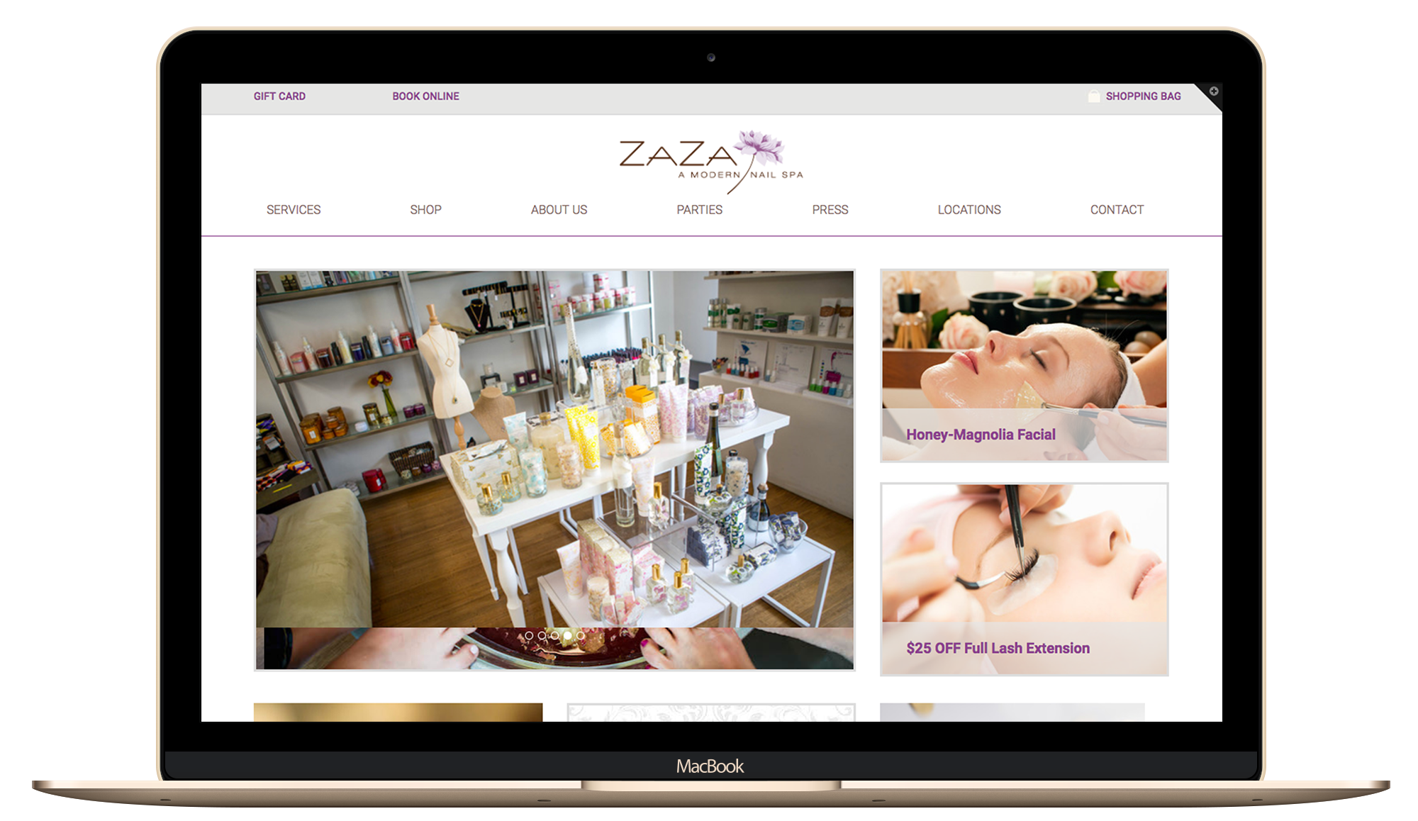salon beauty, health, spa