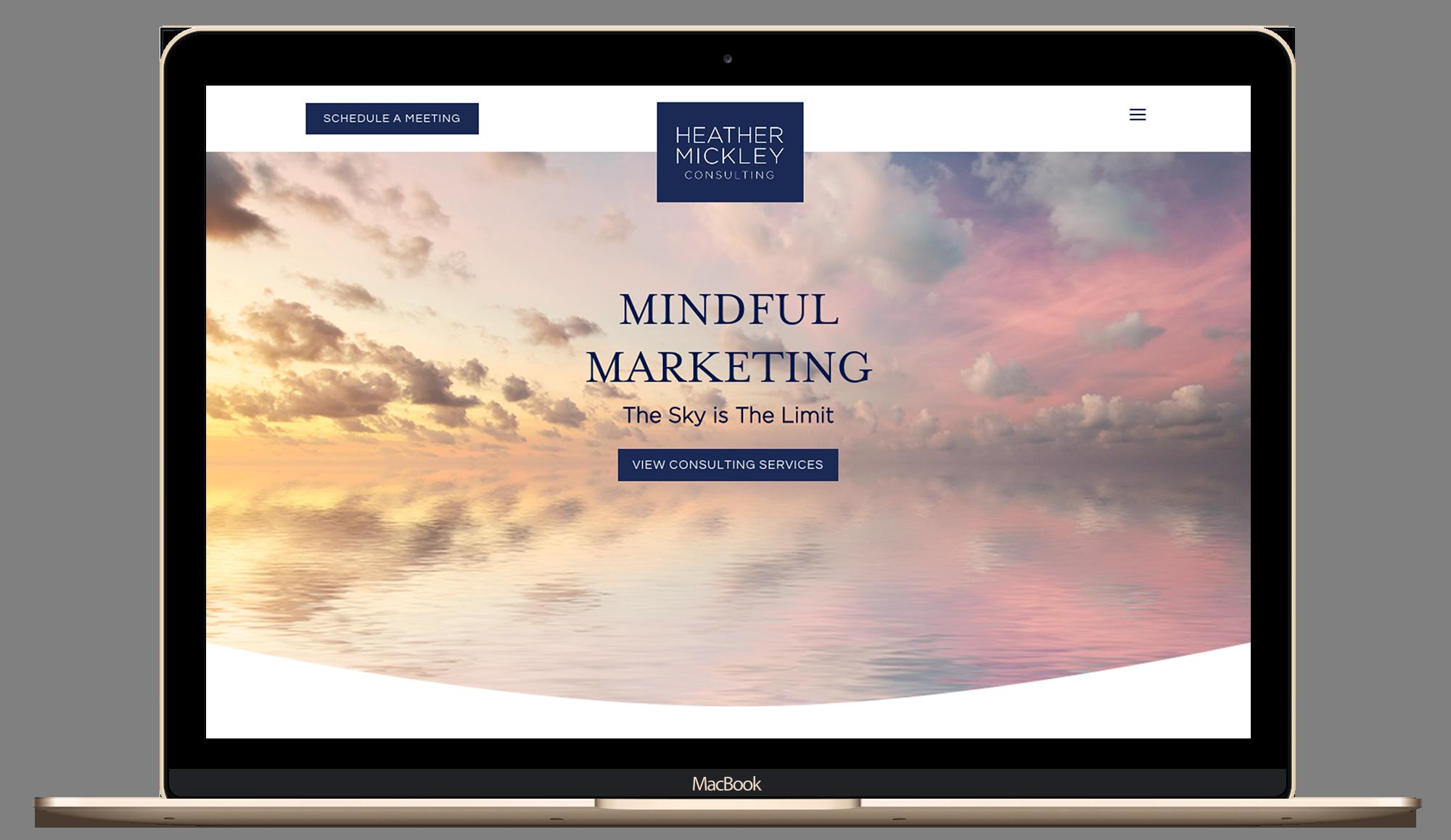 consulting, lady boss website, branding, web design