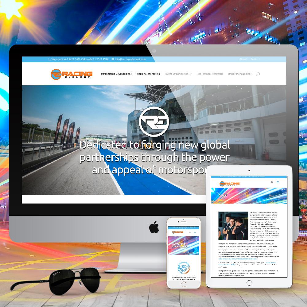 logo refresh, web design