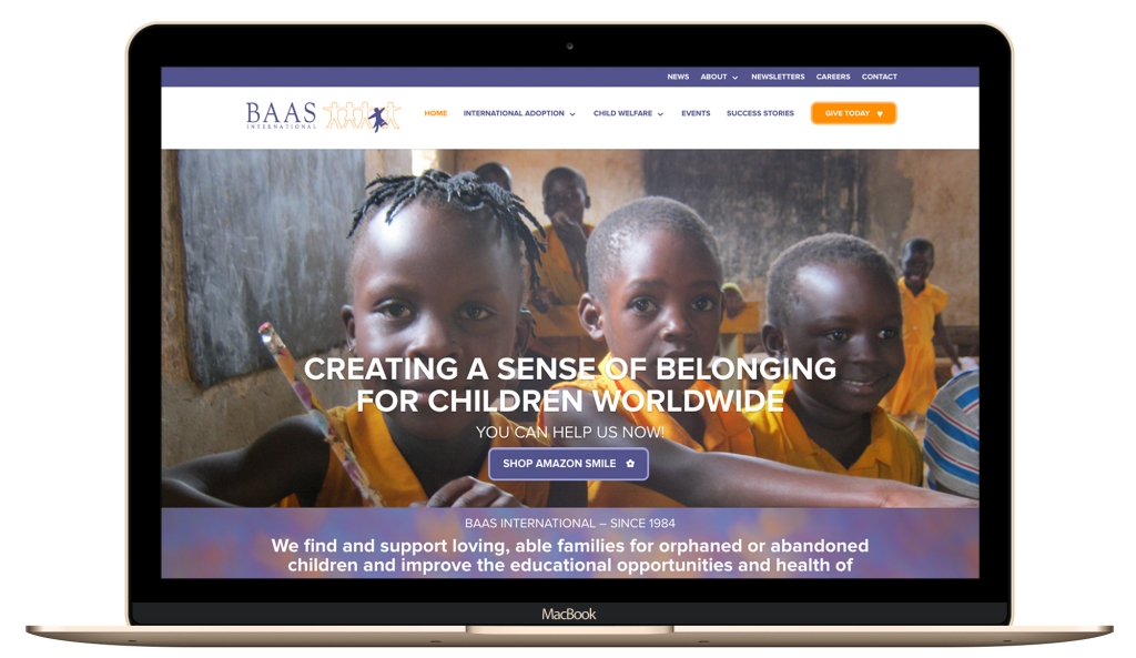 nonprofit, adoption, web design, digital marketing