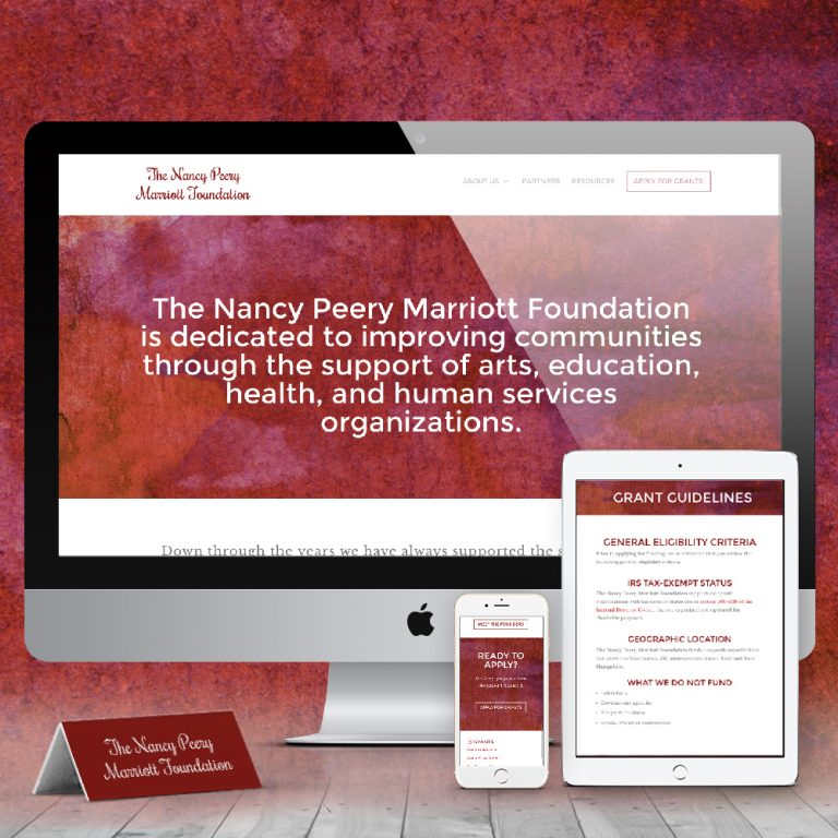 Nancy Peery Marriott Foundation