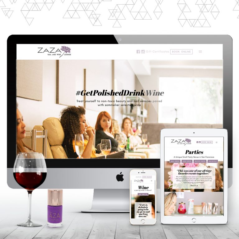 Zaza Nail + Wine Lounge