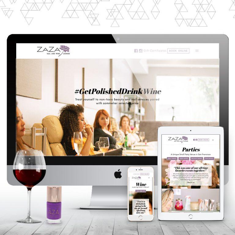 Zaza Nail + Wine Lounge