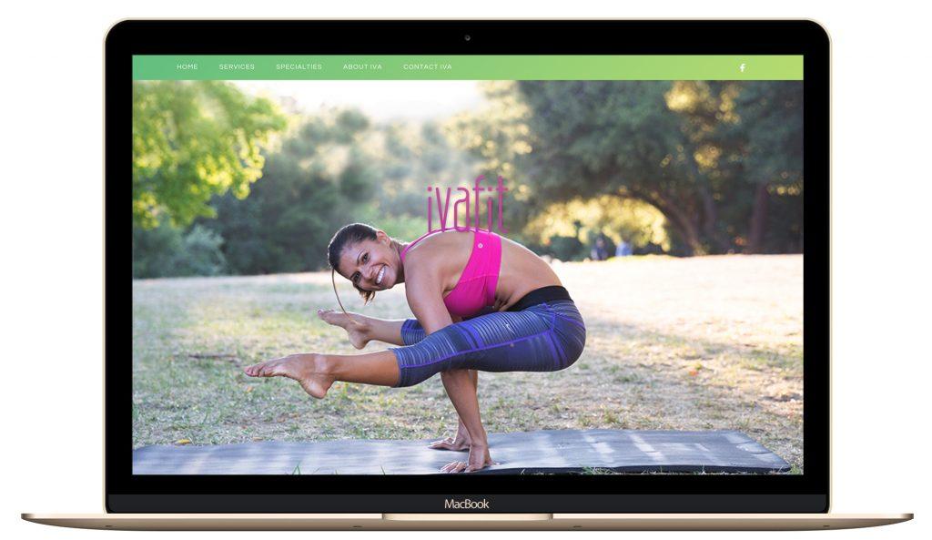 fitness, lady boss, website design