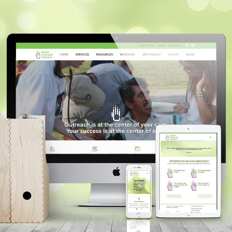 Health Outreach Partners Nonprofit Website