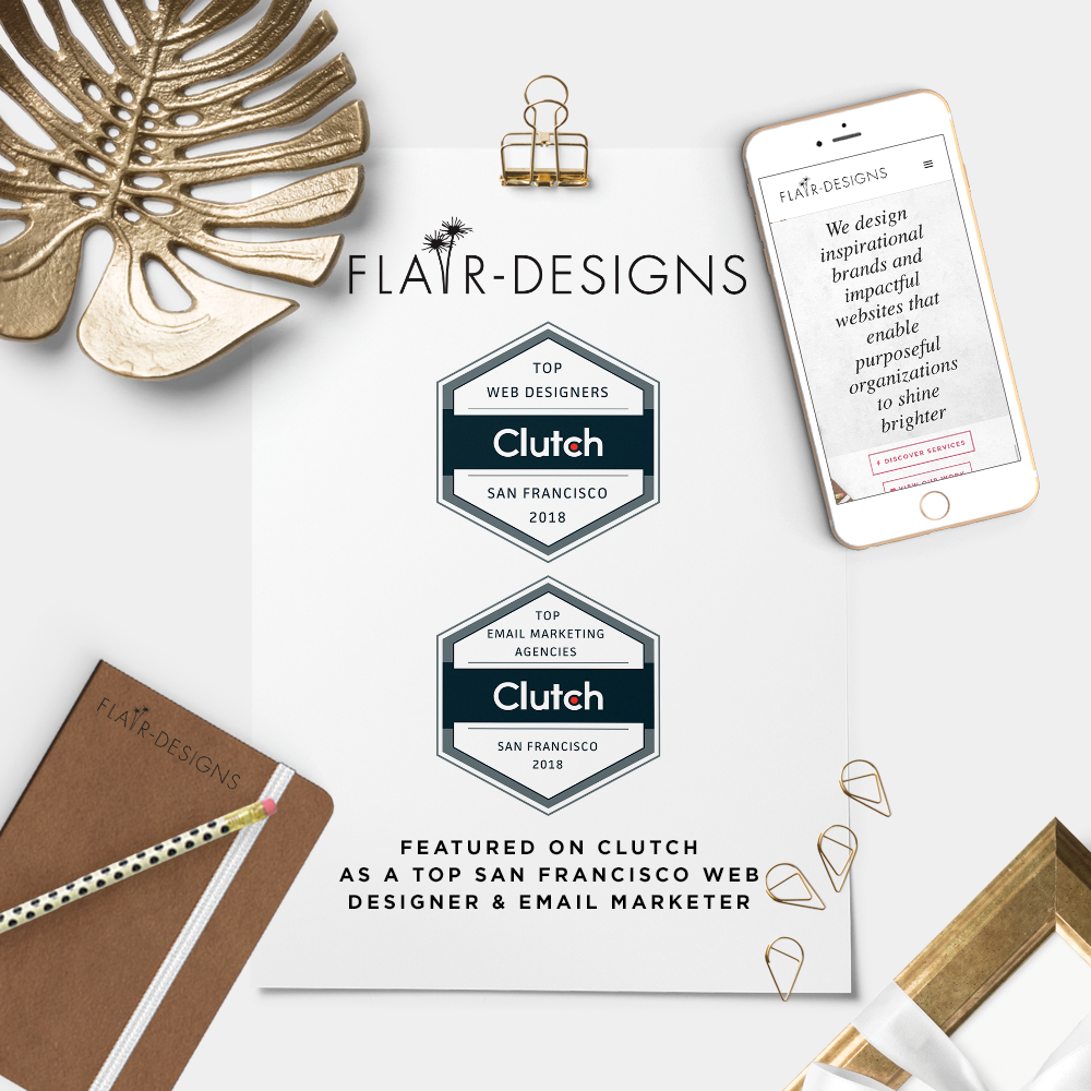 Flair Designs Featured as a Top San Francisco Web Designer & Email Marketer