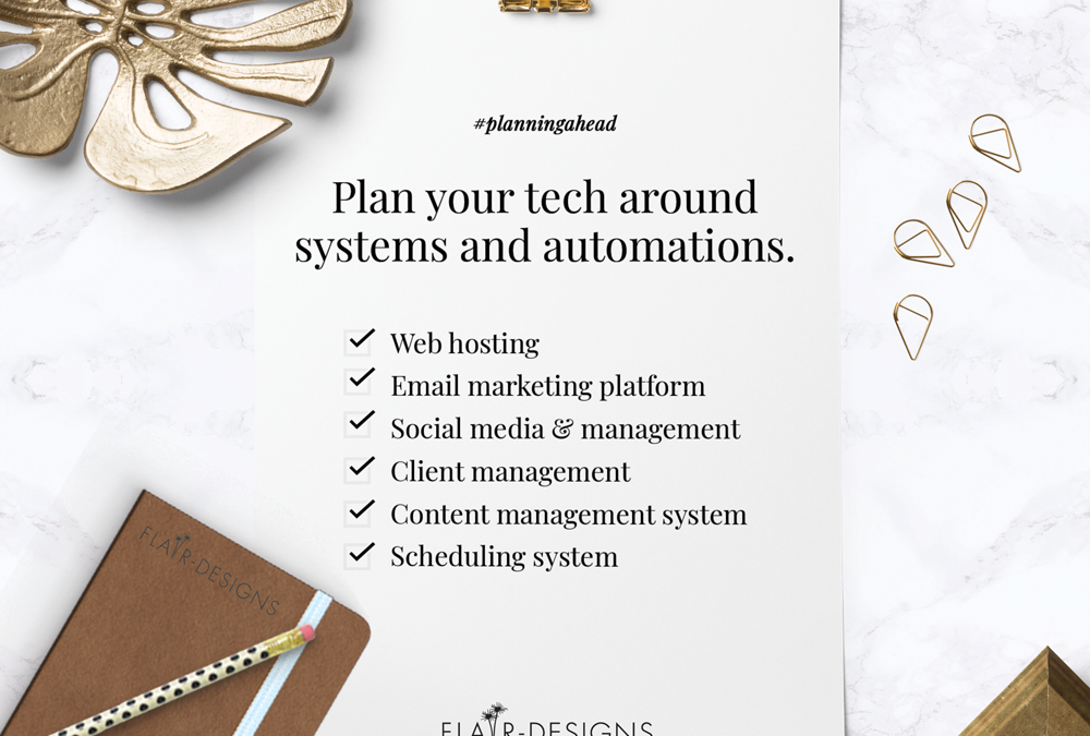 How to plan your web tech for systems and automations